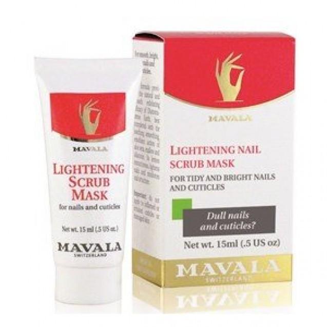 Mavala Lightening Scrub Mask - Esfoliante para Unhas 15ml