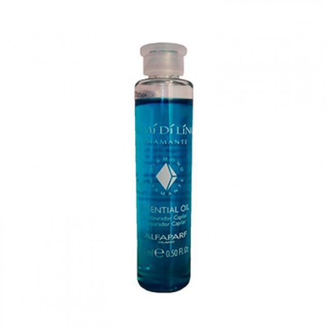 Ampola Azul Alfaparf Semi Di Lino Diamante Essential Oil 15ml