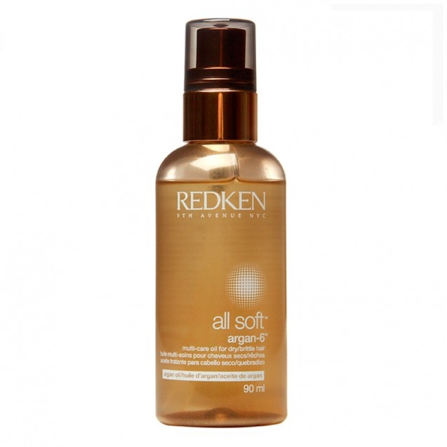 Redken All Soft Argan 6 - Óleo Capilar 90ml