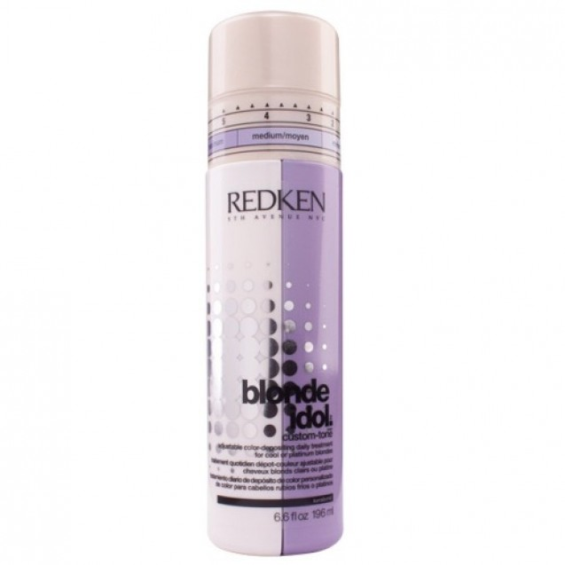 Redken Blonde Idol Custom-Tone Violet - Condicionador 196ml